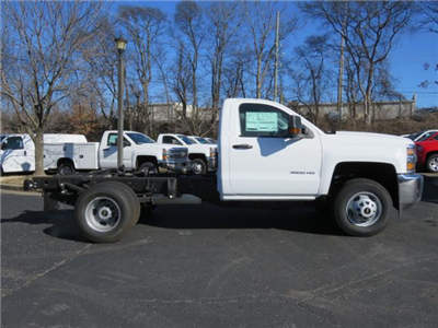 2017 Silverado 3500 Regular Cab DRW 4x4,  Cab Chassis #FK1415 - photo 3