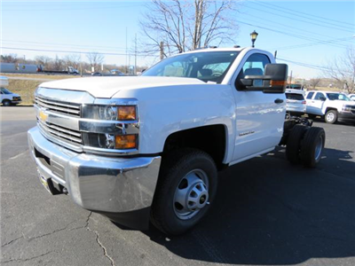 2017 Silverado 3500 Regular Cab DRW 4x4,  Cab Chassis #FK1415 - photo 7