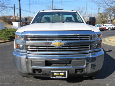 2017 Silverado 3500 Regular Cab DRW 4x4,  Cab Chassis #FK1415 - photo 8