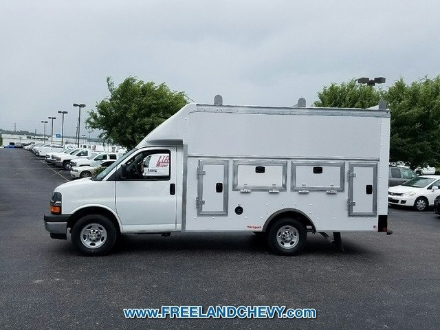 2017 Express 3500, Rockport Service Utility Van #FK1434 - photo 3