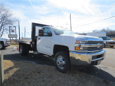 2017 Silverado 3500 Regular Cab DRW 4x2,  Knapheide Value-Master X Platform Body #FK1435 - photo 1