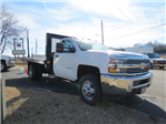 2017 Silverado 3500 Regular Cab DRW, Platform Body #FK1435 - photo 1