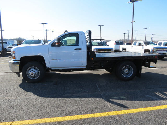 2017 Silverado 3500 Regular Cab DRW 4x4, Freedom Platform Body #FK1460 - photo 6