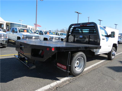 2017 Silverado 3500 Regular Cab DRW 4x4, Platform Body #FK1461 - photo 2