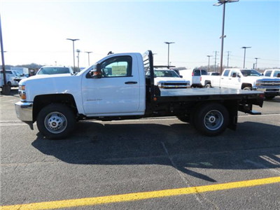 2017 Silverado 3500 Regular Cab DRW 4x4, Platform Body #FK1461 - photo 6