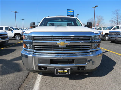 2017 Silverado 3500 Regular Cab DRW 4x4, Platform Body #FK1461 - photo 8