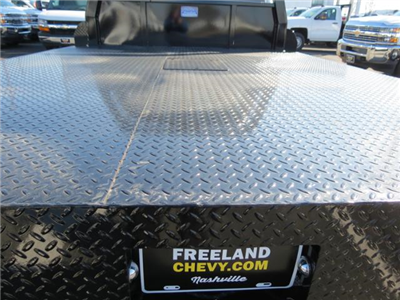 2017 Silverado 3500 Regular Cab DRW 4x4, Platform Body #FK1461 - photo 10