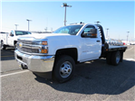 2017 Silverado 3500 Regular Cab DRW 4x4, Platform Body #FK1461 - photo 7
