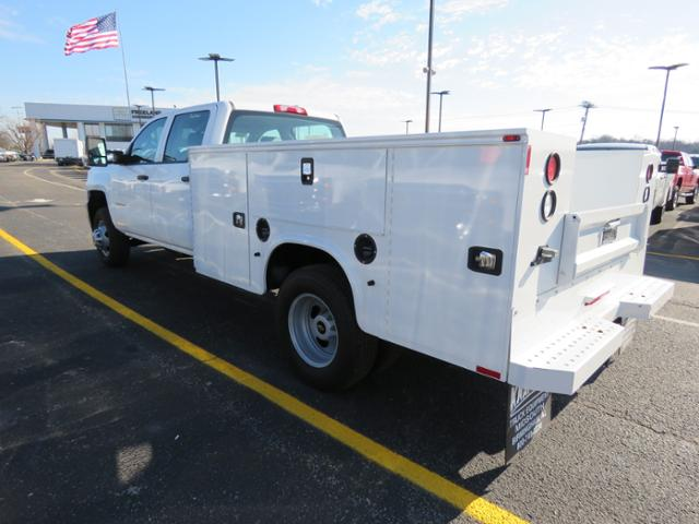 2017 Silverado 3500 Crew Cab DRW 4x4, Service Body #FK1468 - photo 7