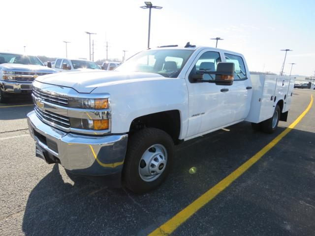 2017 Silverado 3500 Crew Cab DRW 4x4, Service Body #FK1468 - photo 8