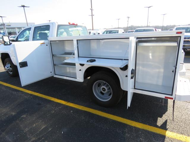 2017 Silverado 3500 Crew Cab DRW 4x4, Service Body #FK1468 - photo 15