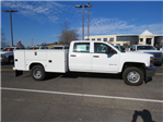 2017 Silverado 3500 Crew Cab DRW 4x4, Service Body #FK1468 - photo 3