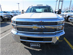 2017 Silverado 3500 Crew Cab DRW 4x4, Service Body #FK1468 - photo 9