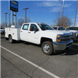 2017 Silverado 3500 Crew Cab DRW 4x4, Service Body #FK1468 - photo 33