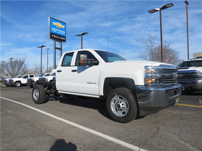 2017 Silverado 2500 Double Cab, Cab Chassis #FK1474 - photo 1