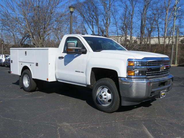 2017 Silverado 2500 Regular Cab 4x4,  Palfinger Service Body #FK1483 - photo 1