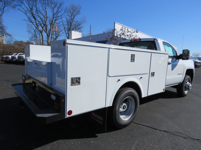 2017 Silverado 2500 Regular Cab 4x4,  Palfinger Service Body #FK1483 - photo 2