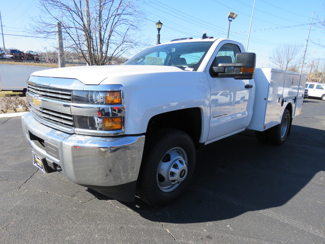 2017 Silverado 2500 Regular Cab 4x4,  Palfinger Service Body #FK1483 - photo 7