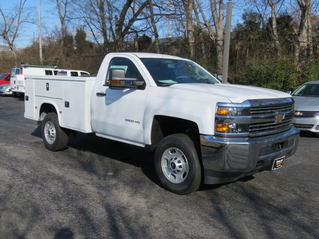 2017 Silverado 2500 Regular Cab 4x4, Reading SL Service Body #FK1484 - photo 1