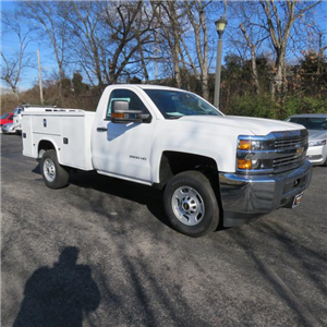 2017 Silverado 2500 Regular Cab 4x4, Reading SL Service Body #FK1484 - photo 28