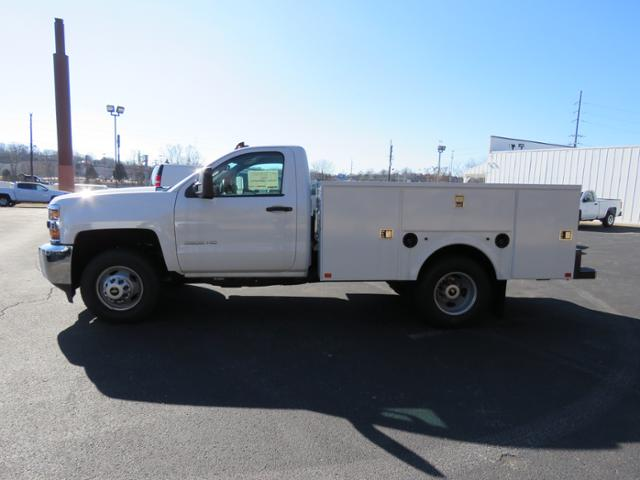 2017 Silverado 3500 Regular Cab DRW 4x4,  Palfinger Service Body #FK1485 - photo 6