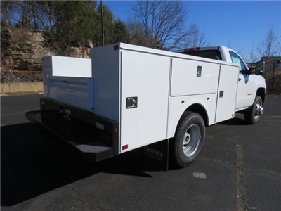2017 Silverado 3500 Regular Cab DRW 4x4,  Palfinger Service Body #FK1485 - photo 2