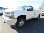2017 Silverado 3500 Regular Cab DRW 4x4,  Palfinger Service Body #FK1485 - photo 7