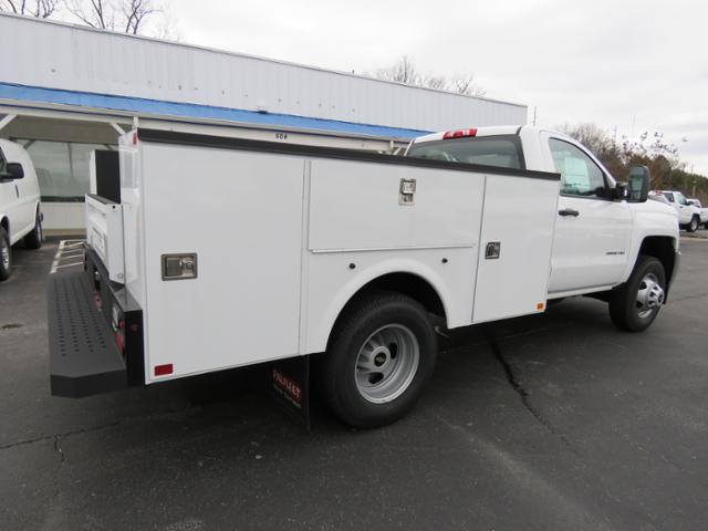 2017 Silverado 3500 Regular Cab DRW 4x4,  Palfinger Service Body #FK1525 - photo 2