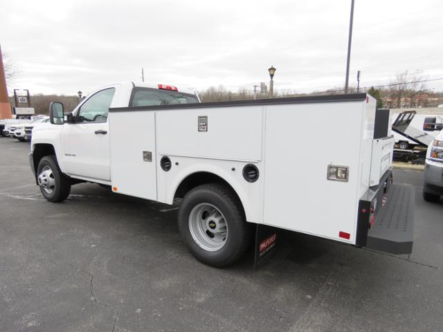 2017 Silverado 3500 Regular Cab DRW 4x4,  Palfinger Service Body #FK1525 - photo 5