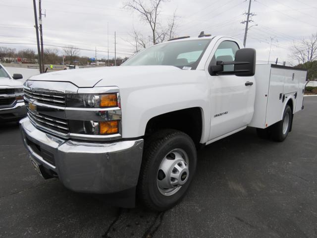 2017 Silverado 3500 Regular Cab DRW 4x4,  Palfinger Service Body #FK1525 - photo 7