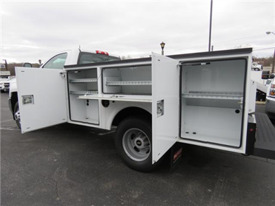 2017 Silverado 3500 Regular Cab DRW 4x4,  Palfinger Service Body #FK1525 - photo 10