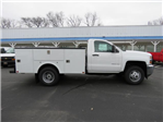 2017 Silverado 3500 Regular Cab DRW 4x4,  Palfinger Service Body #FK1525 - photo 3