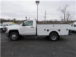 2017 Silverado 3500 Regular Cab DRW 4x4,  Palfinger Service Body #FK1525 - photo 6