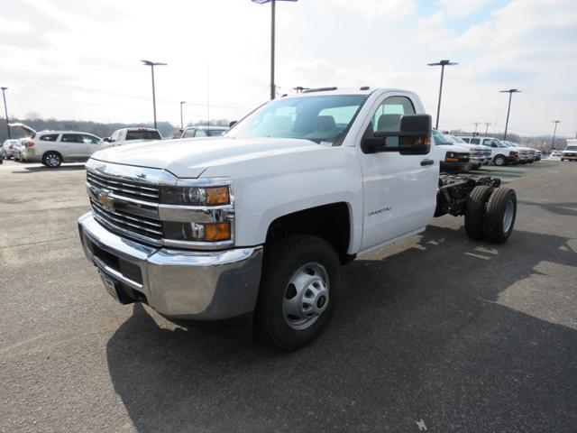 2017 Silverado 3500 Regular Cab DRW 4x4,  Cab Chassis #FK1556 - photo 8