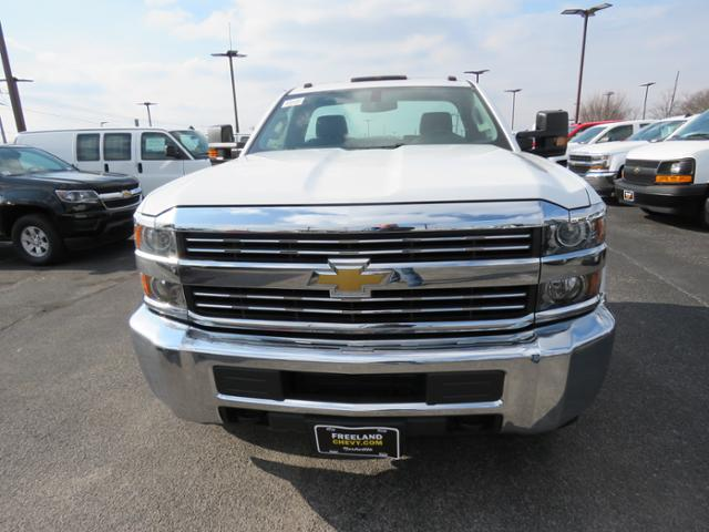 2017 Silverado 3500 Regular Cab DRW 4x4,  Cab Chassis #FK1556 - photo 9