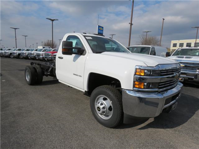 2017 Silverado 3500 Regular Cab DRW 4x4,  Cab Chassis #FK1556 - photo 1