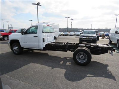 2017 Silverado 3500 Regular Cab DRW 4x4,  Cab Chassis #FK1556 - photo 7