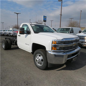 2017 Silverado 3500 Regular Cab DRW 4x4,  Cab Chassis #FK1556 - photo 23