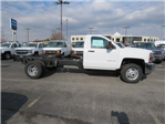 2017 Silverado 3500 Regular Cab DRW 4x4,  Cab Chassis #FK1556 - photo 3