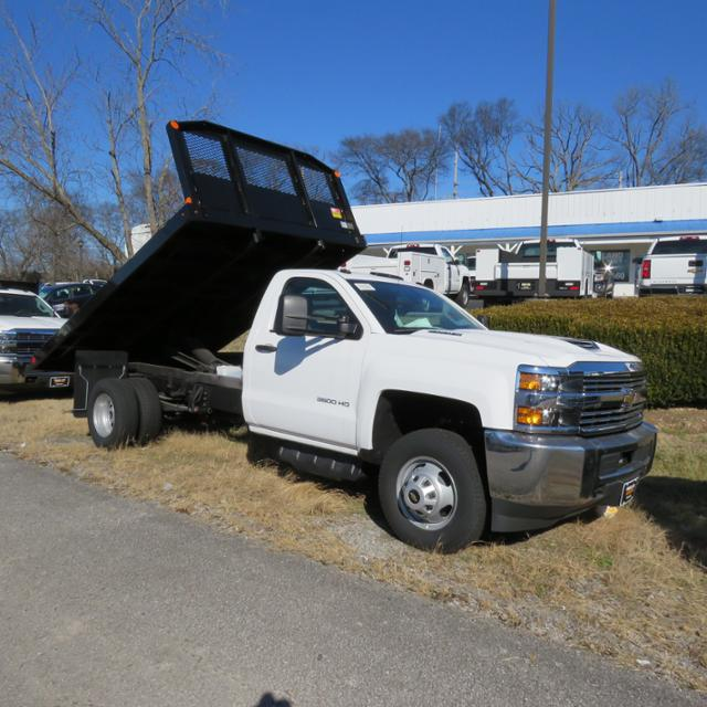 2017 Silverado 3500 Regular Cab DRW, Platform Body #FK1642 - photo 20