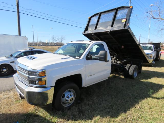 2017 Silverado 3500 Regular Cab DRW, Platform Body #FK1642 - photo 7
