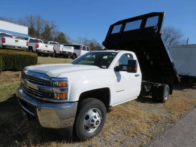 2017 Silverado 3500 Regular Cab DRW 4x4, Platform Body #FK1674 - photo 7