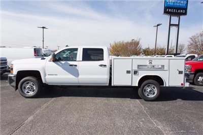 2017 Silverado 2500 Crew Cab, Service Body #FK1694 - photo 4
