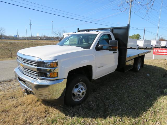 2017 Silverado 3500 Regular Cab DRW 4x4, Reading Platform Body #FK1726 - photo 9