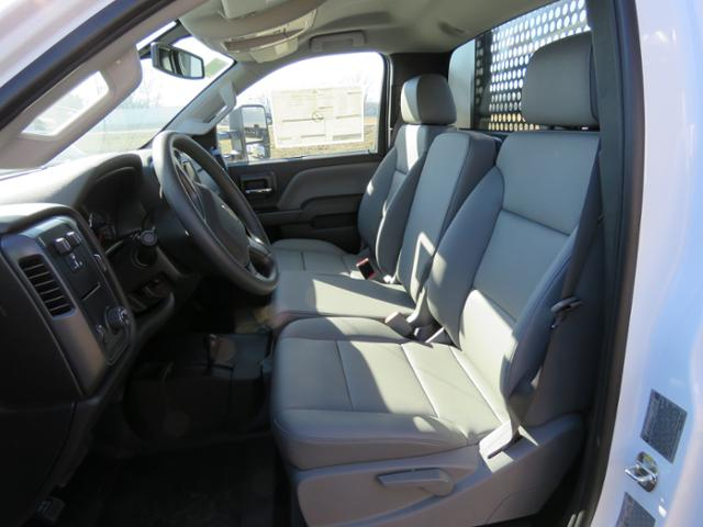 2017 Silverado 3500 Regular Cab DRW 4x4,  Reading Platform Body #FK1726 - photo 13
