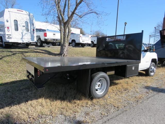 2017 Silverado 3500 Regular Cab DRW 4x4,  Reading Platform Body #FK1726 - photo 2