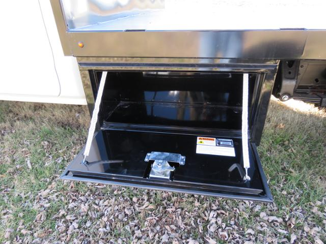 2017 Silverado 3500 Regular Cab DRW 4x4,  Reading Platform Body #FK1726 - photo 8