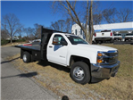 2017 Silverado 3500 Regular Cab DRW 4x4, Reading Platform Body #FK1726 - photo 1