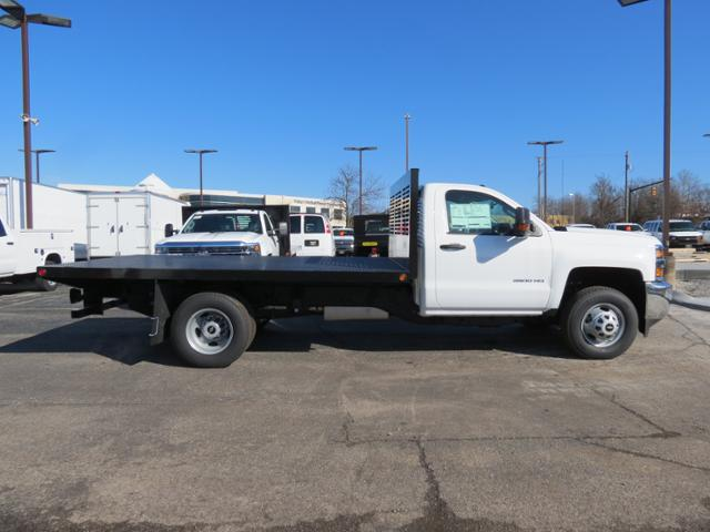2017 Silverado 3500 Regular Cab DRW, Omaha Standard PALFINGER Platform Body #FK1732 - photo 3