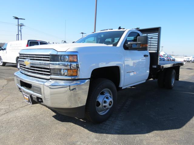 2017 Silverado 3500 Regular Cab DRW, Omaha Standard PALFINGER Platform Body #FK1732 - photo 6